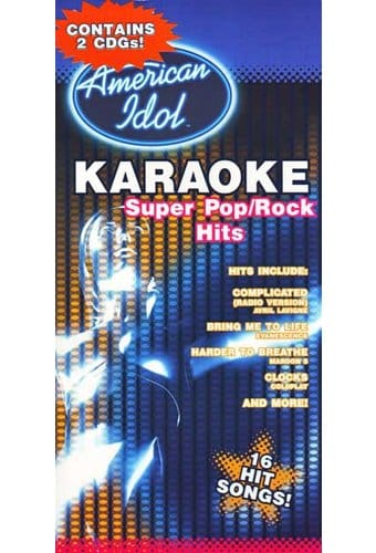Karaoke Super Pop/Rock Hits (2-CD)