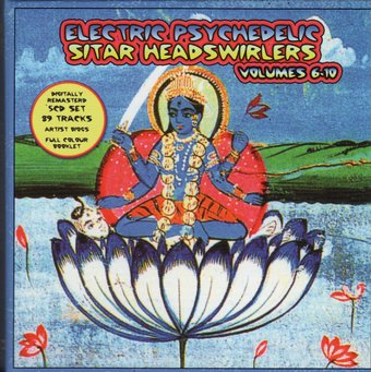 Electric Psychedelic Sitar Headswirlers, Volumes