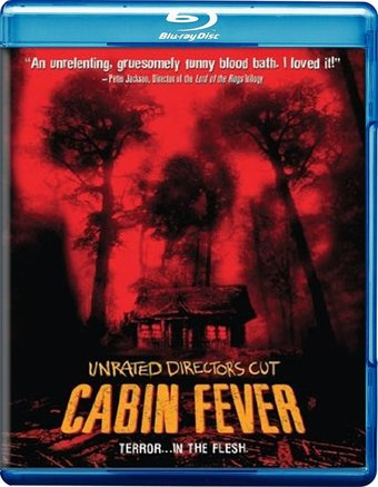 Cabin Fever Blu Ray 2002 Starring Rider Strong