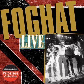 Foghat Live Cd 2008 Collectables Records Oldies Com
