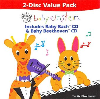 Baby Einstein 2-Disc Value Pack: Baby Bach / Baby