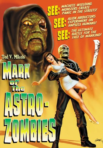 "Mark of the Astro-Zombies - 11"" x 17"" Poster"