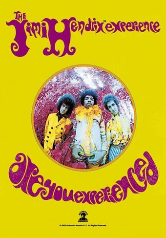 Jimi Hendrix - Are You Experienced - Flag /