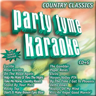 Party Tyme Karaoke: Country