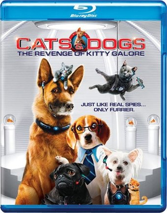 Cats & Dogs: The Revenge of Kitty Galore (Blu-ray