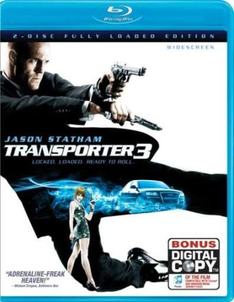 The Transporter 3 (Blu-ray, Includes Digital Copy)
