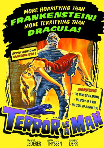 "Terror Is a Man - 11"" x 17"" Poster"