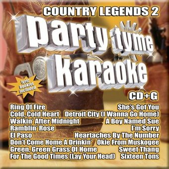 Party Tyme Karaoke: Country Legends, Volume 2
