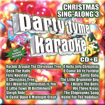 Party Tyme Karaoke: Christmas Sing-Along, Volume 3
