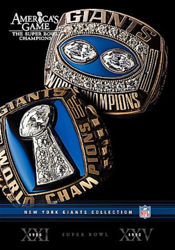 Football - NFL America's Game: NY Giants (2-DVD)