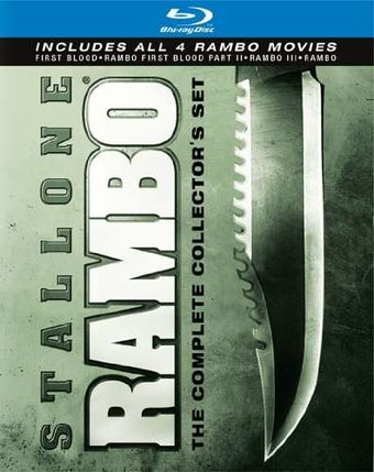 Rambo: The Complete Collector's Set (Blu-ray)
