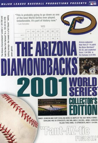 Baseball - Arizona Diamondbacks: 2001 World
