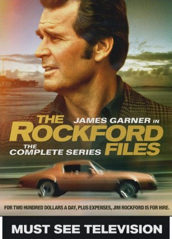 The Rockford Files - Complete Series (22-DVD)