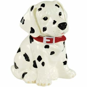 Puppy - Dalmatian - Cookie Jar