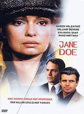 Jane Doe Dvd 1983 Starring Eva Marie Saint William