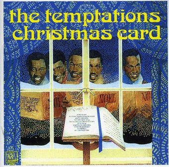 The Temptations Christmas Card Cd 1970 Republic