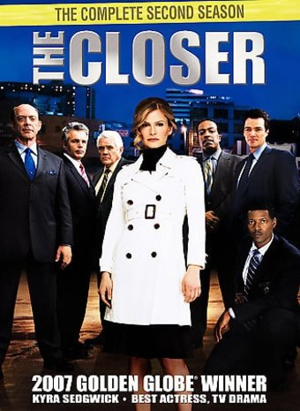 The Closer - Complete 2nd Season (4-DVD)