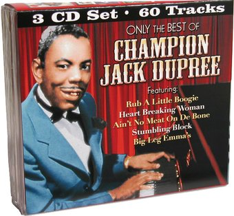 Only The Best of Champion Jack Dupree (3-CD)
