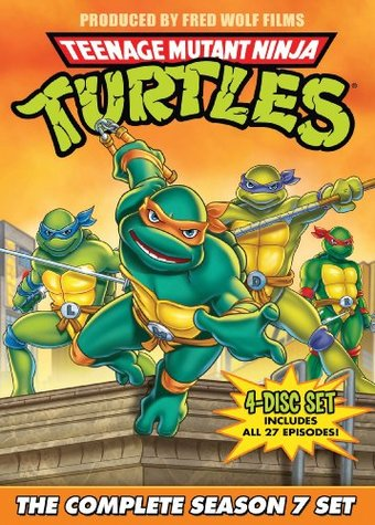 Teenage Mutant Ninja Turtles - Season 7 (4-DVD)