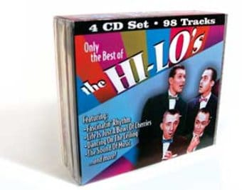 Only The Best of The Hi-Lo's (4-CD Bundle Pack)