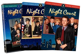Night Court - Complete Seasons 1-3 (8-DVD)