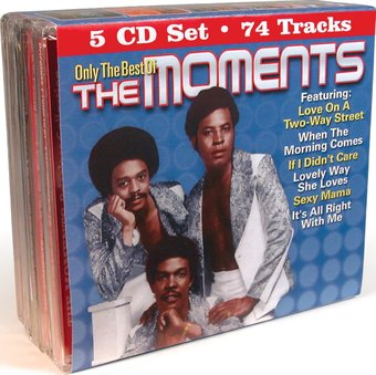 Only The Best of The Moments (5-CD)