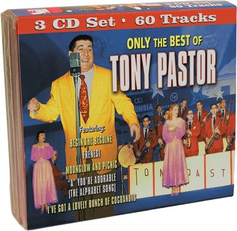 Only The Best of Tony Pastor (3-CD)