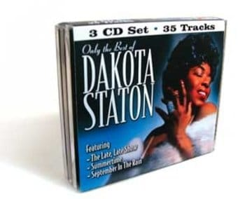 Only The Best of Dakota Staton (3-CD Bundle Pack)