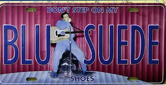 Elvis Presley - Don't Step On My Blu Suede Shoes