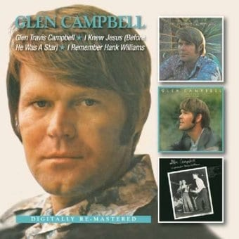 Glen Travis Campbell / I Knew Jesus (Before He