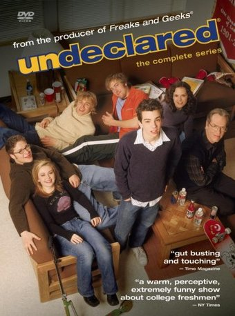 Undeclared - Complete Series (4-DVD)
