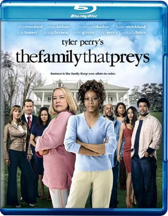 Tyler Perry's The Family That Preys (Blu-ray)