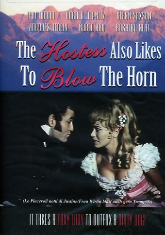 The Hostess Also Likes to Blow the Horn