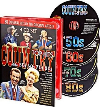 Country Top Hits of the 50s, 60s, 70s and 80s