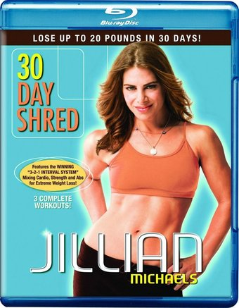 Jillian Michaels: 30 Day Shred (Blu-ray)