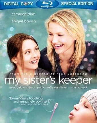 My Sister's Keeper (Blu-ray, Includes Digital