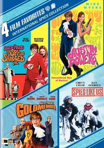 International Spies Collection Austin Powers