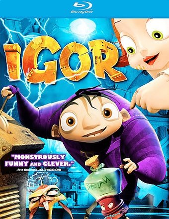 Igor (Blu-ray, Widescreen)