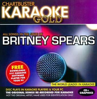 Karaoke Gold: In the Style of Britney Spears