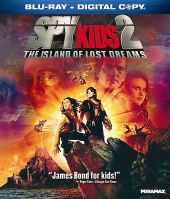 Spy Kids 2: Island of Lost Dreams (Blu-ray,