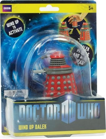Doctor Who - Dalek - Red Wind-Up Toy