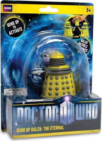 Dalek - Yellow Wind-Up Toy