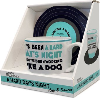 The Beatles - A Hard Days Night: 12 oz. Ceramic