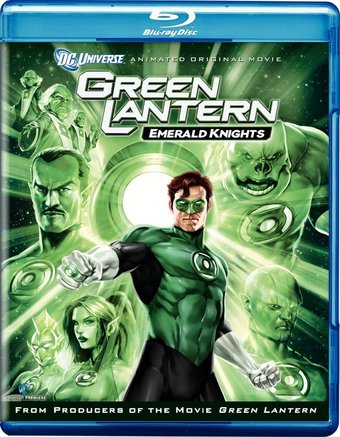 Green Lantern: Emerald Knights (Blu-ray + DVD)