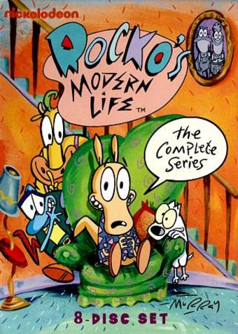 Rocko's Modern Life - Complete Series (8-DVD)