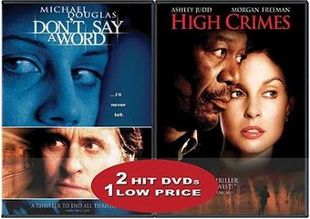 Don't Say a Word / High Crimes 2-Pack