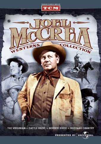 Joel McCrea Westerns Collection (The Virginian /