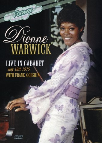 Dionne Warwick - Live In Cabaret, July 18th 1975