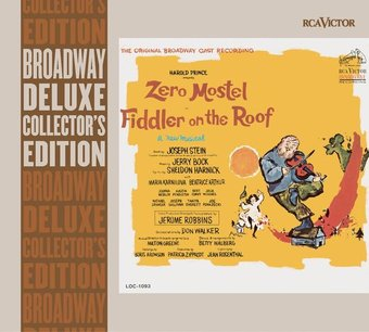 Zero Mostel Fiddler On The Roof Original Broadway Cast