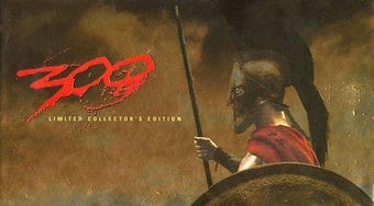 300 (Limited Collector's Edition with Book)
